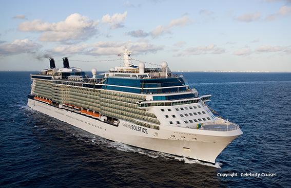 Celebrity Solstice - cruise vessel