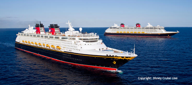 Disney Dream and Disney Fantasy - cruise vessels