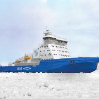 LNG-powered icebreaker