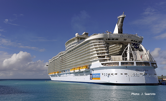 Oasis of the Seas - cruise vessel