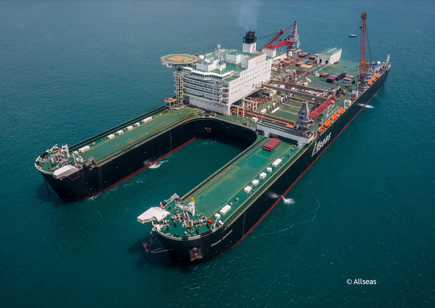 Pioneering Spirit D.P. Platform Installation/Removal and Pipelay Vessel - Allseas