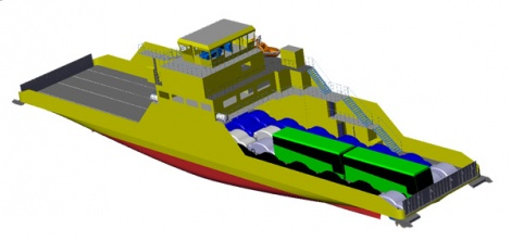 Double-ended ferry concept for FinFerries
