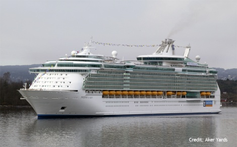 Freedom of the Seas - cruise vessel