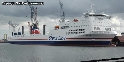 Stena Trader - ro-ro passenger vessel