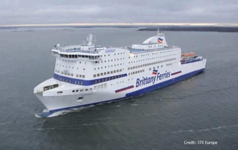 Armorique - car passenger ferry