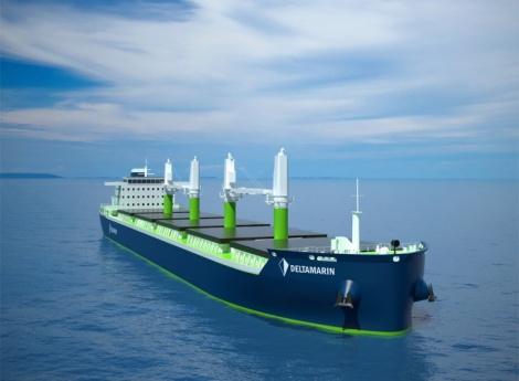 Deltamarin's B.Delta bulk carrier design