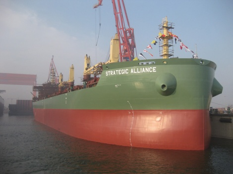 Strategic Alliance - bulk carrier based on Deltamarin's B.Delta design