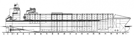 Fast container carrier