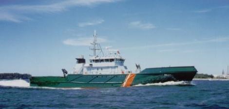 Telkkä - frontier guarding vessel