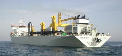 Vasco da Gama - hopper suction dredger vessel