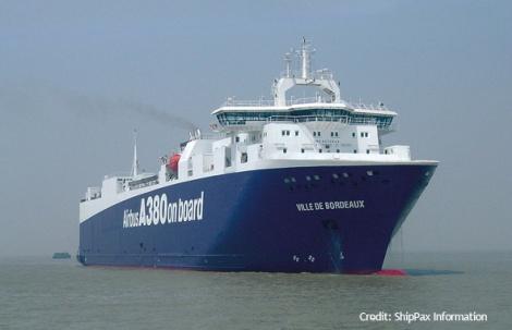 Ville de Bordeaux - aircraft part carrier