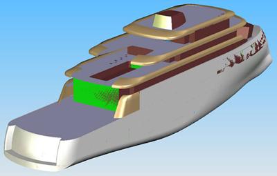 Yacht 100 m