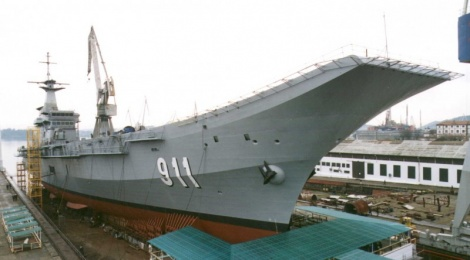 HTMS Chakri Naruebet - offshore patrolhHelicopter carrier