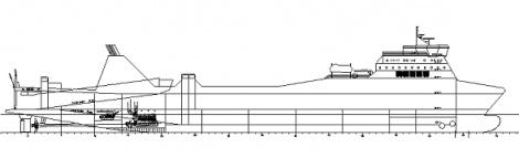 Ro-ro trailer carrier