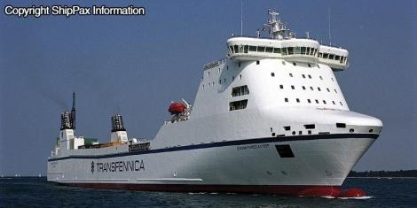 Stena Forecaster - ro-ro carrier