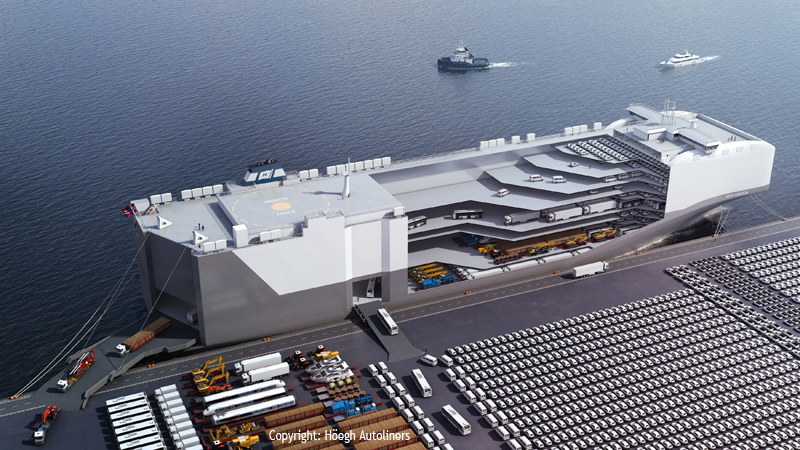 Deltamarin S Pctc Design Shortlisted For Nor Shipping