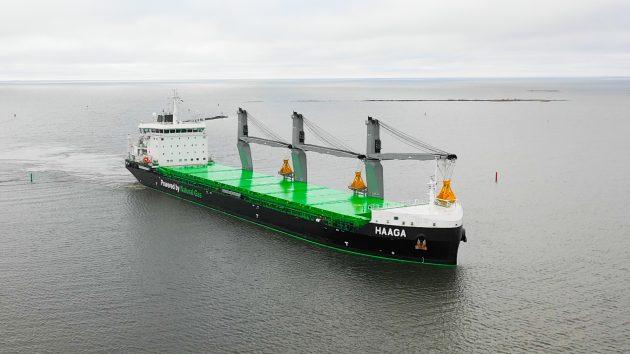 Haaga bulk carrier - credit ESL Shipping