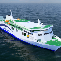 Mols-Linien ro-pax at Rauma Marine Constructions