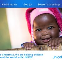 UNICEF Christmas card