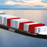 Eimskip 2,150 TEU container vessel based on Deltamarin's container feeder design