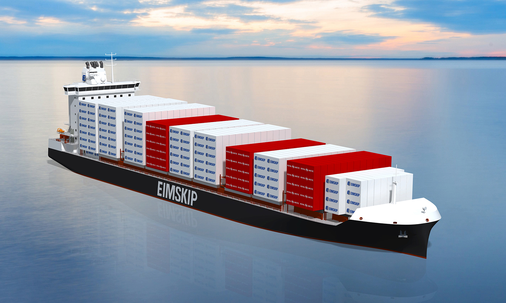 Eimskip &RAL 2,150 TEU container vessel based on Deltamarin's container feeder design