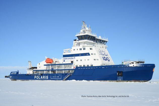 Photo: Tuomas Romu, Aker Arctic Technology Inc. and Arctia Ltd.