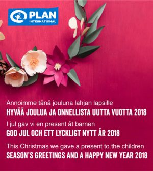 Deltamarin Christmas greeting 2018