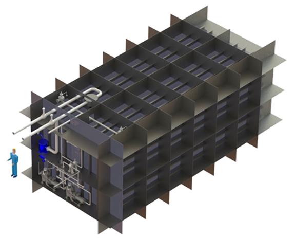 GTT Exoskeleton LNG tank
