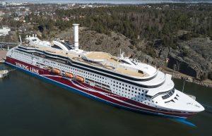 Viking Grace - rotor sail