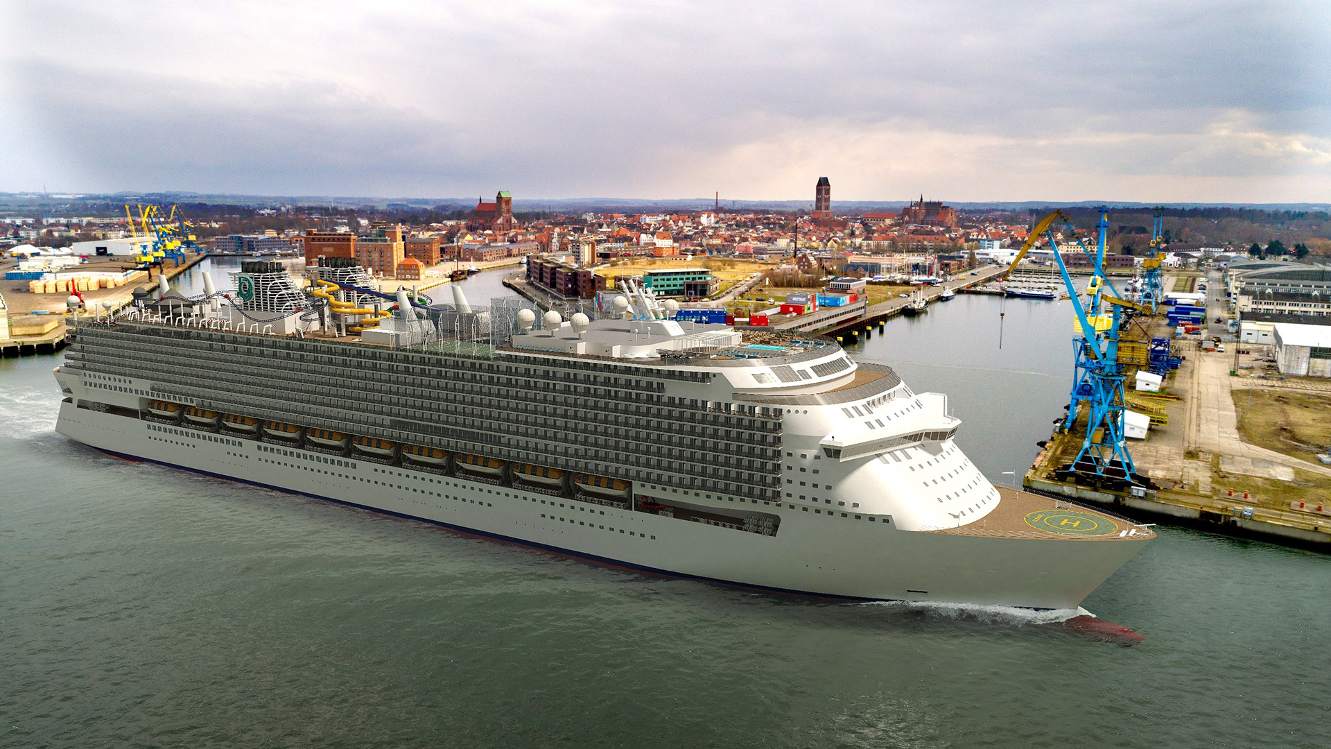 Deltamarin and Elomatic to design second Global class cruise ship