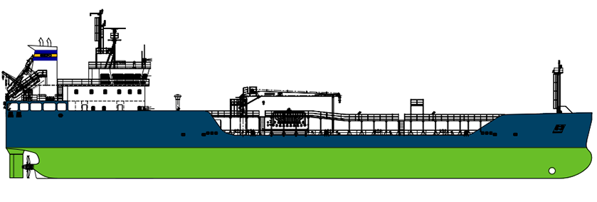 GEFO 3600dwt SS Chemical Tanker