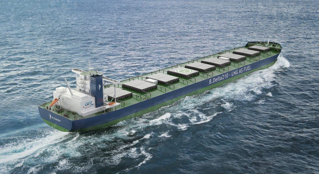 LNG-fuelled Newcastlemax bulk carrier