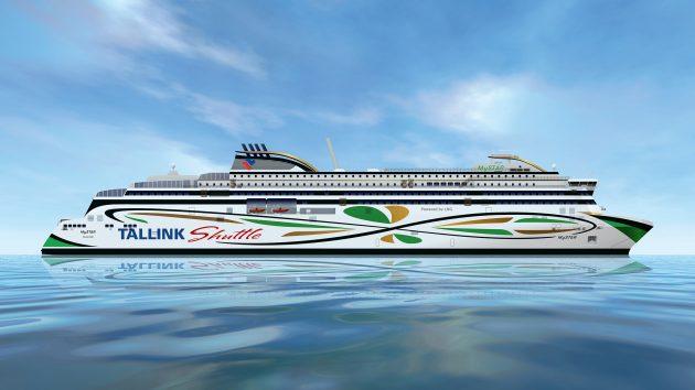 Tallink MyStar LNG-fuelled ferry - credit RMC